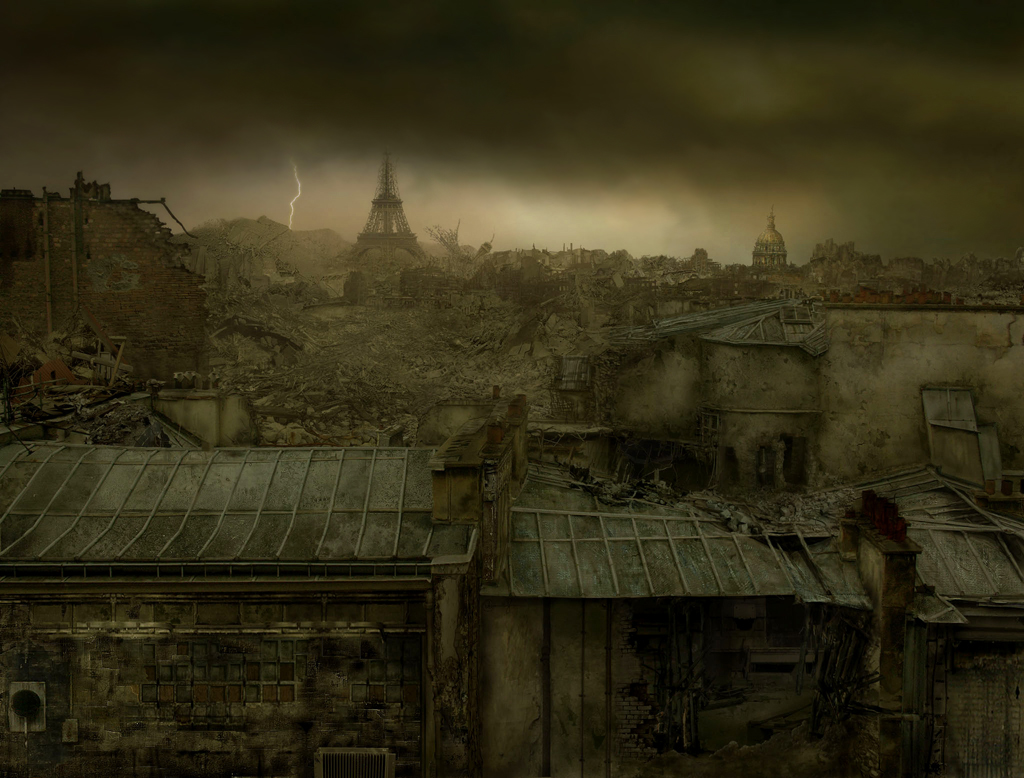 Destroyed Paris