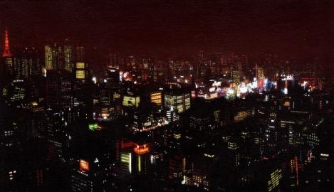St. Luke's View - Tokyo at Night