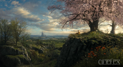 M is for Matte Painting!